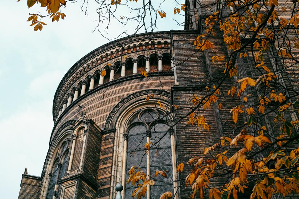 Herbst - Zionskirche Berlin