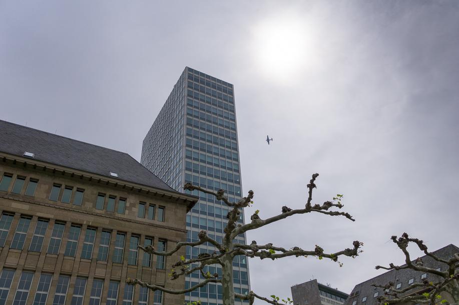 JU52 über Düsseldorf