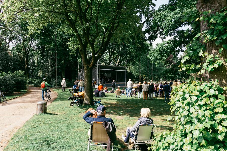 Konzert im Hofgarten Düsseldorf